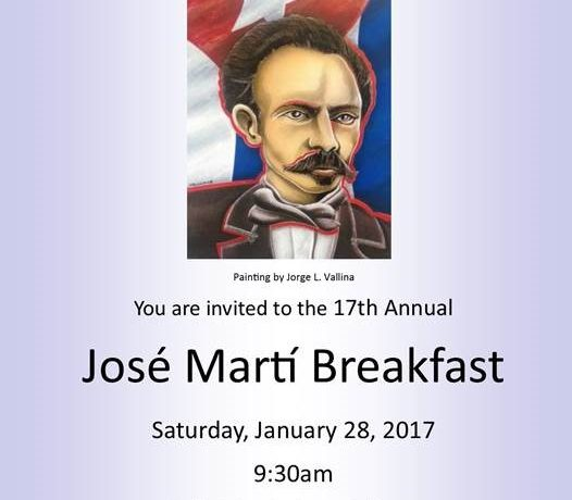 17th Annual José Martí Breakfast